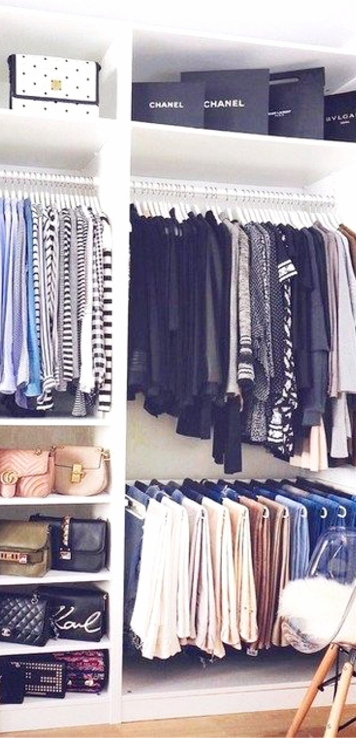 Simple tips to declutter and organize your closet.