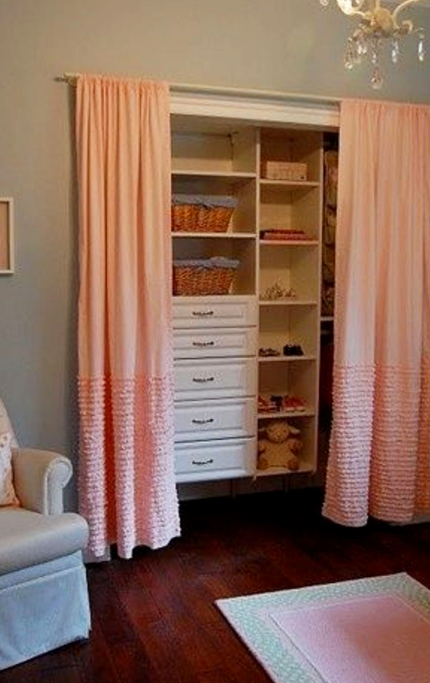 Baby closet ideas - DIY nursery closet organization and organizing ideas