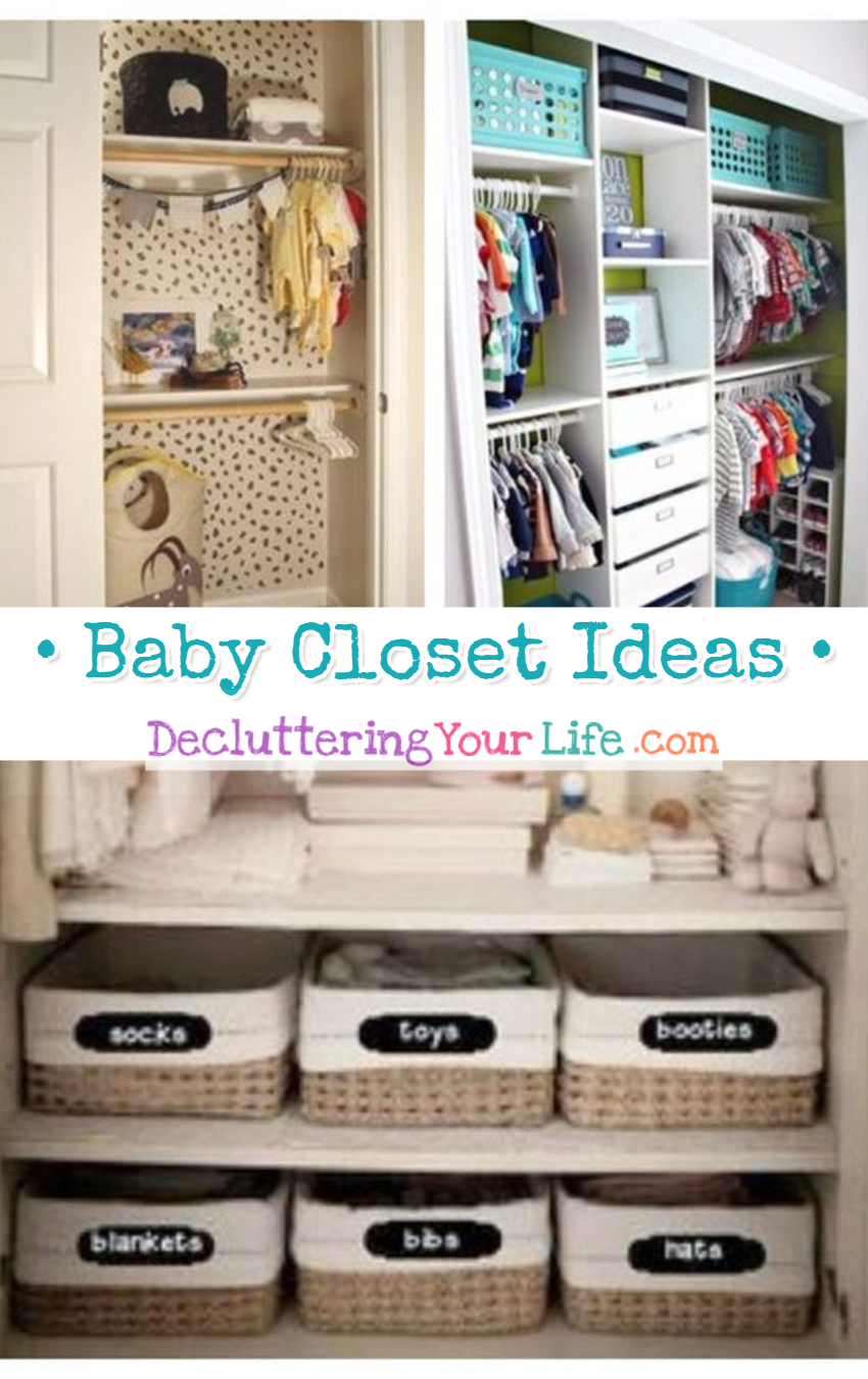 Baby Closet Organization Ideas! EASY DIY organizing ideas for the nursery closet