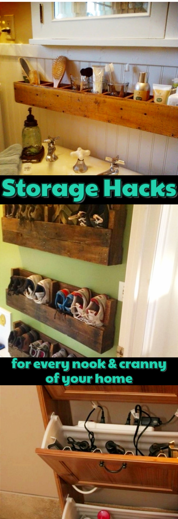creative storage solutions for small spaces - declutteringyourlife