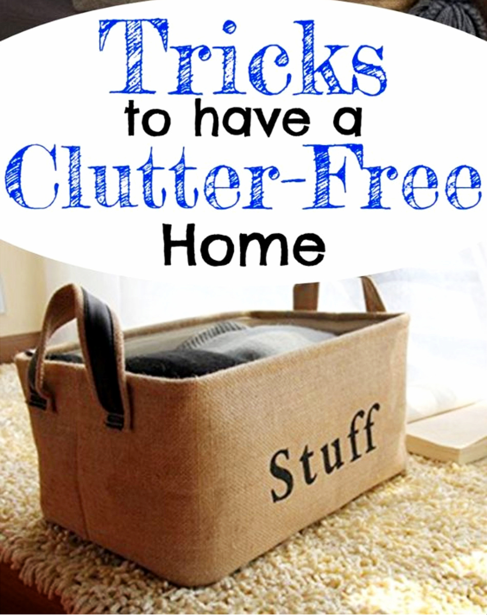 Decluttering Tips and Tricks to Get Organized In Your Home