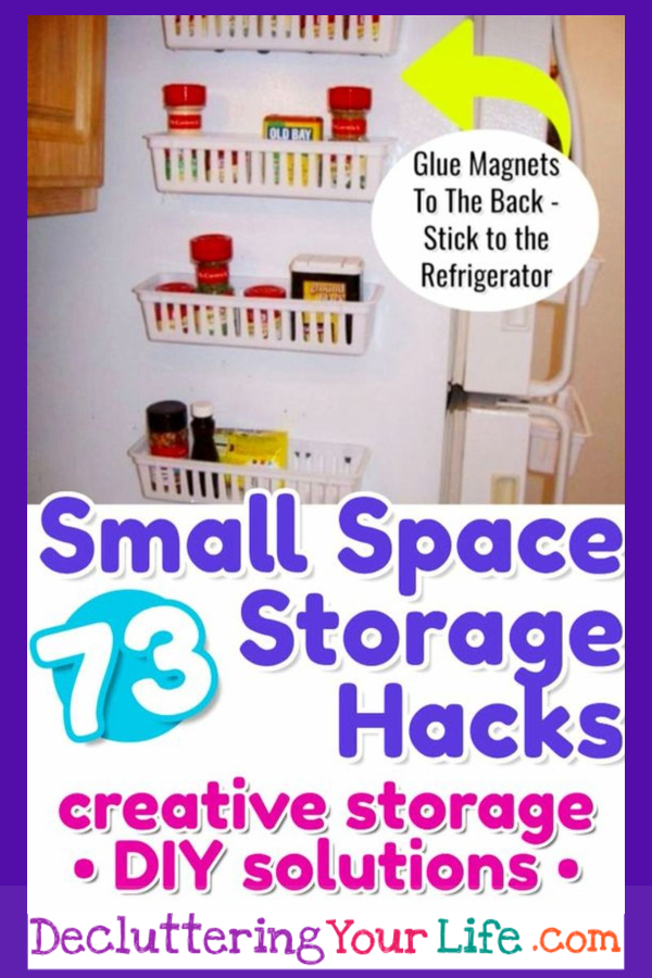 Small space storage hacks