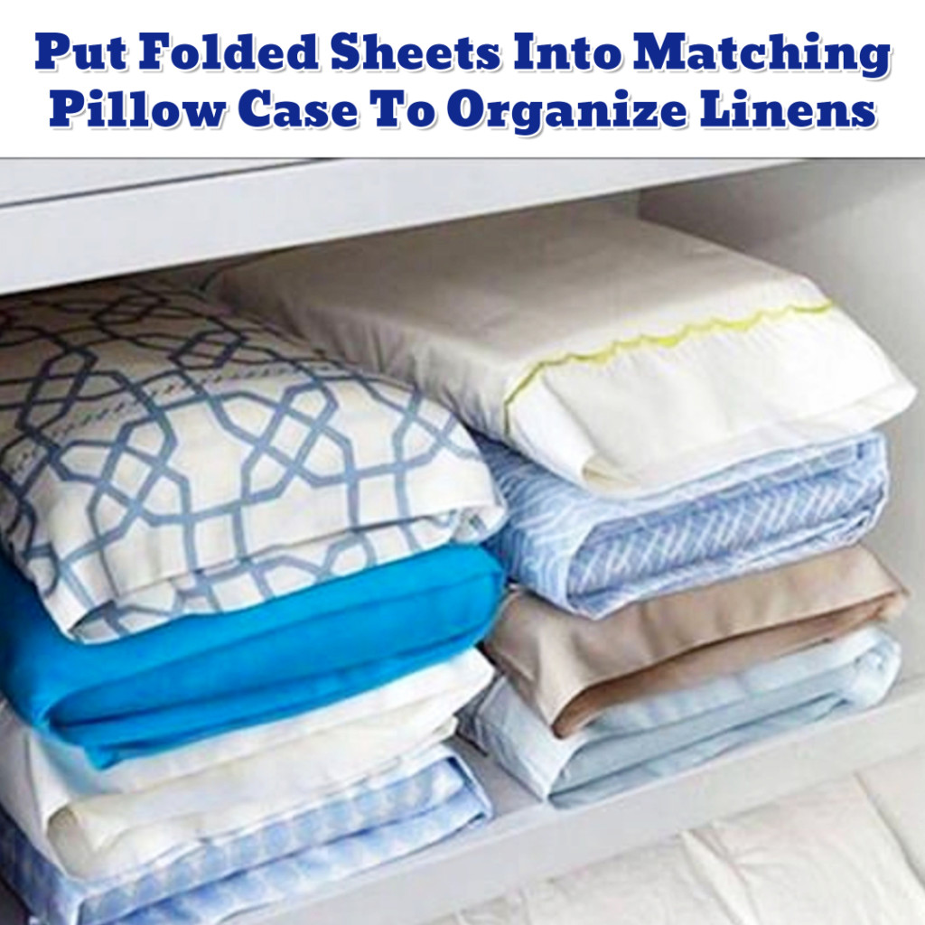 Linen Closet Organization ideas - Getting Organized - 50+ Easy DIY organization Ideas To Help Get Organized #getorganized #gettingorganized #organizationideasforthehome #diyhomedecor #organizingideas #cleaninghacks #lifehacks #diyideas