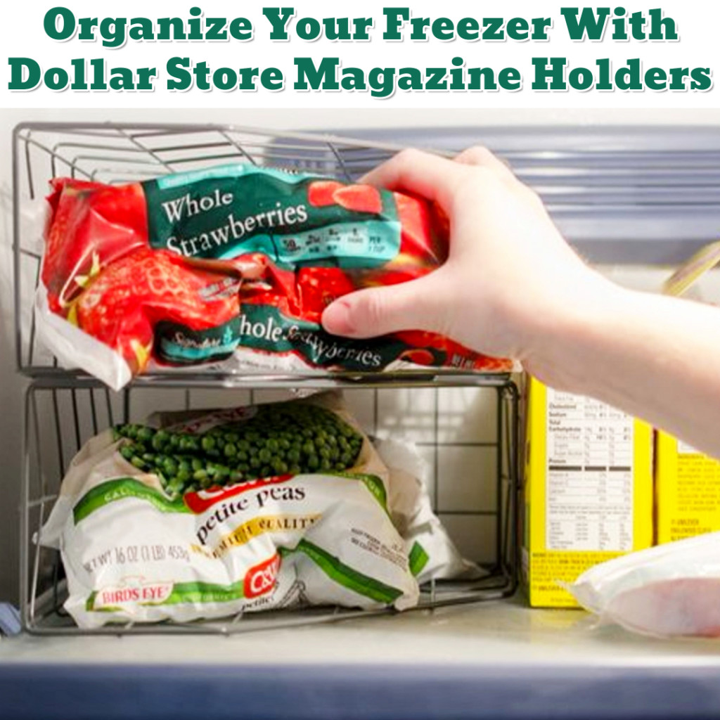 Freezer Organization Hack - Getting Organized - 50+ Easy DIY organization Ideas To Help Get Organized #getorganized #gettingorganized #organizationideasforthehome #diyhomedecor #organizingideas #cleaninghacks #lifehacks #diyideas