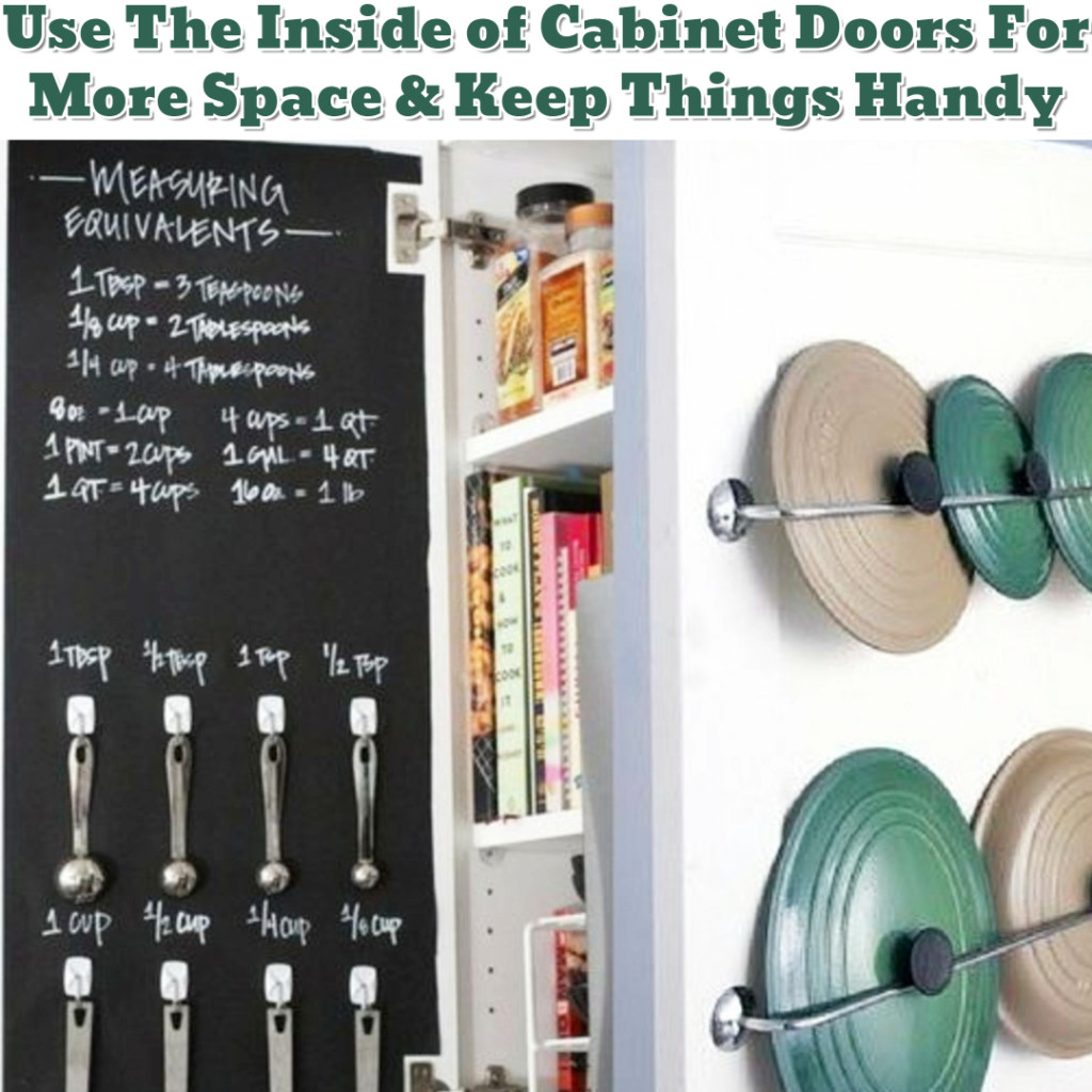Kitchen cabinet organization ideas - Getting Organized - 50+ Easy DIY organization Ideas To Help Get Organized #getorganized #gettingorganized #organizationideasforthehome #diyhomedecor #organizingideas #cleaninghacks #lifehacks #diyideas