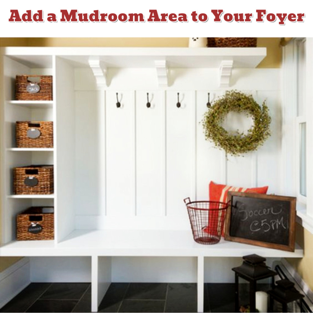 Foyer organization and mud room design idea - Getting Organized - 50+ Easy DIY organization Ideas To Help Get Organized #getorganized #gettingorganized #organizationideasforthehome #diyhomedecor #organizingideas #cleaninghacks #lifehacks #diyideas
