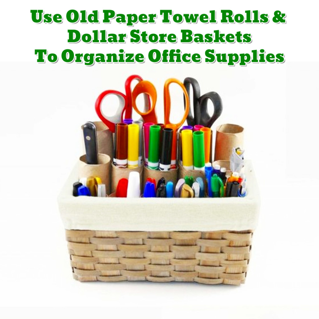 Craft and office organization DIY ideas - Getting Organized - 50+ Easy DIY organization Ideas To Help Get Organized #getorganized #gettingorganized #organizationideasforthehome #diyhomedecor #organizingideas #cleaninghacks #lifehacks #diyideas