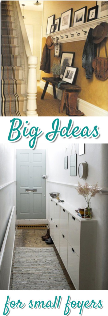Small Foyer Decorating Ideas Diy Front Entryway