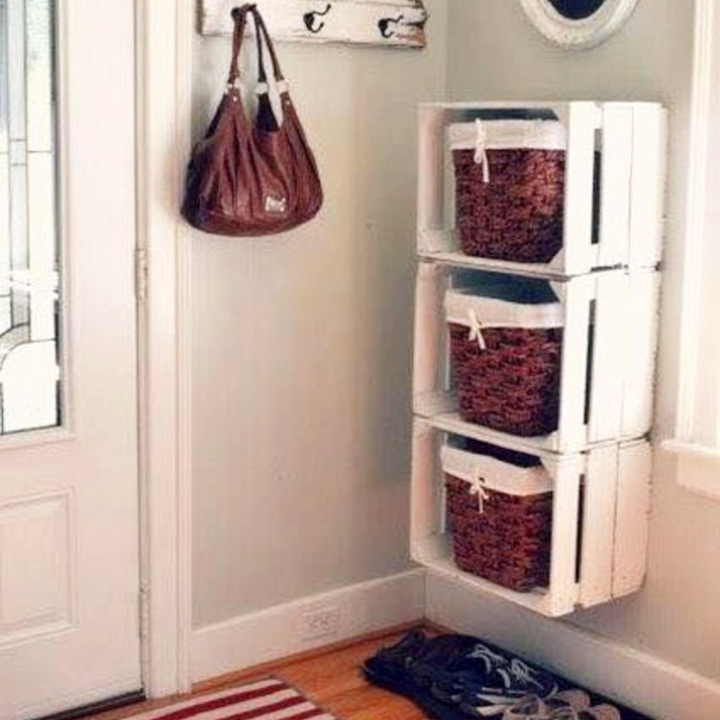 DIY storage ideas for small spaces #organizationideasforthehome #getorganized #homeorganizationideas #lifehacks #storagesolutions #organizationideas #gettingorganized #diystorageideas #organizingtips #apartmentdecorating