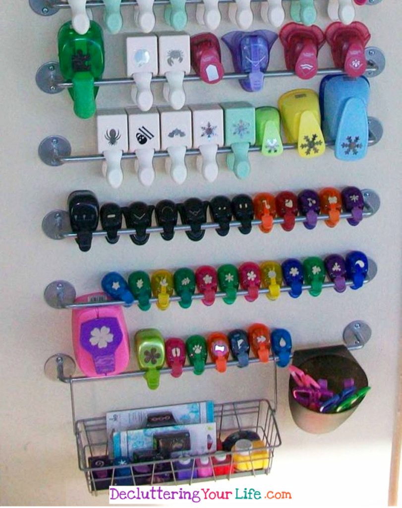 How To Organize Craft Supplies in a Small Space - Craft Room Organizing Ideas #gettingorganized #goals #organizationideasforthehome