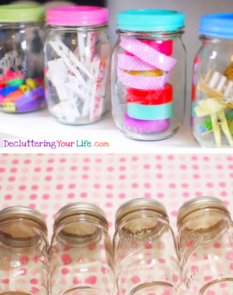 New Craft Storage Ideas Using Unexpected Items Room Organizing Gettingorganized Goals