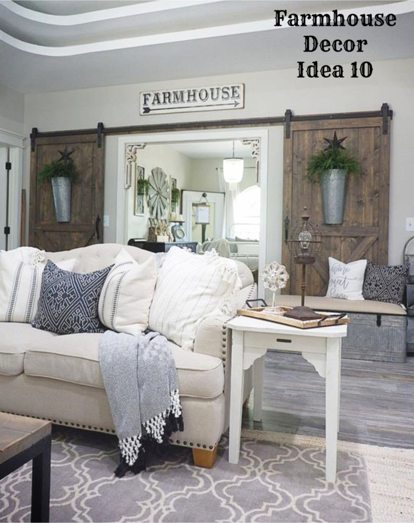 farmhouse living room ideas farmhouse decor clean crisp amp organized farmhouse 12340