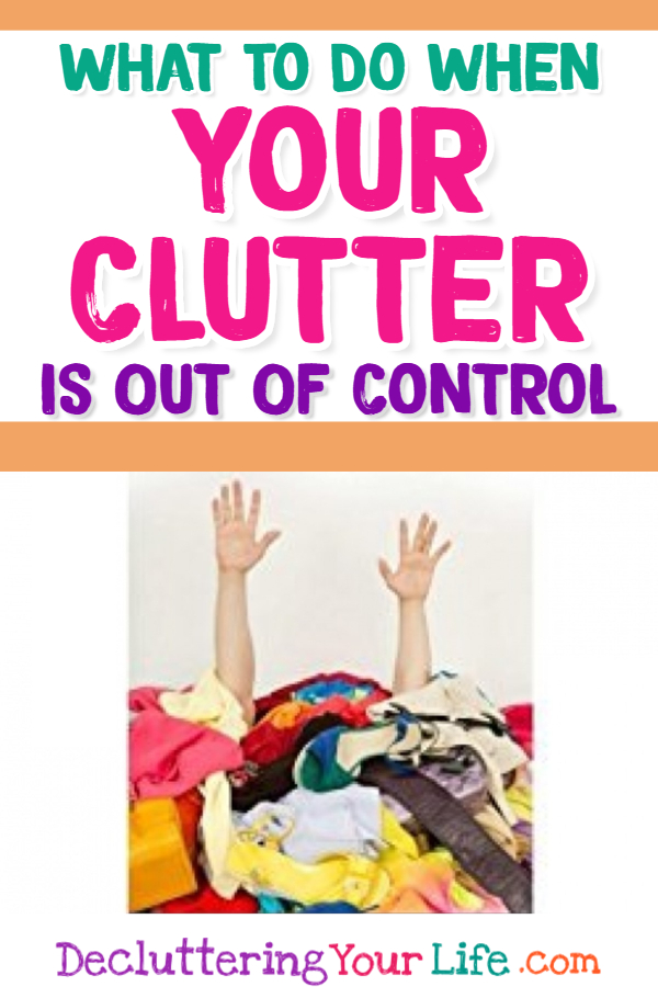 Decluttering Ideas when Feeling Overwhelmed - Clutter control solutions because clutter causes ANXIETY! Simplify clutter with these simple and easy DIY decluttering tips and storage solutions from Professional Organizers to declutter and organize your home and your life