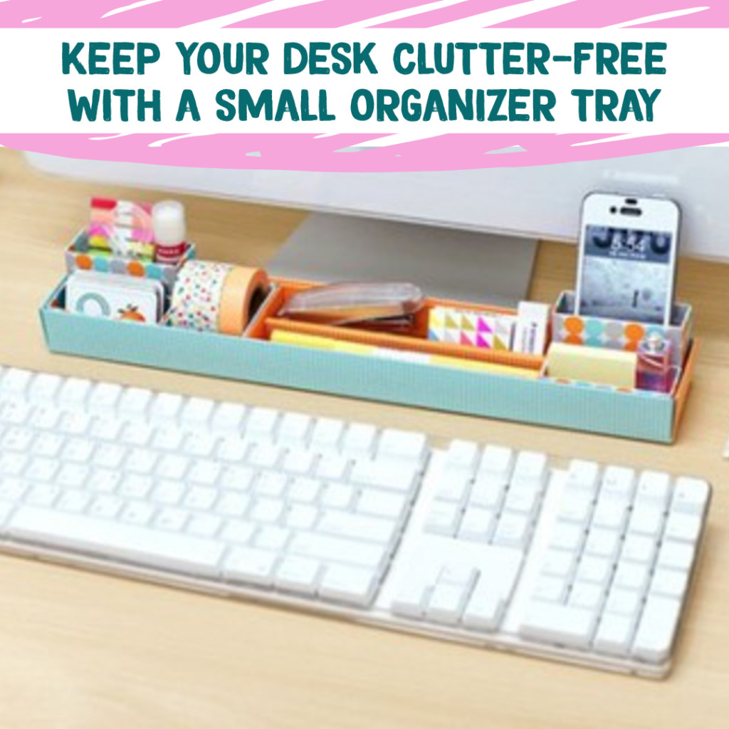 desk organization - simple tips & diy ideas for your home office