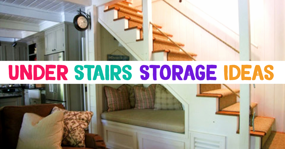under stairs storage ideas - storage solutions using space under stairs Neat Bedroom Storage Ideas