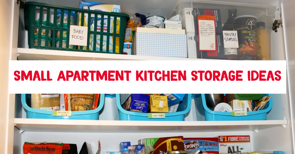 small apartment kitchen storage ideas that won't risk your deposit
