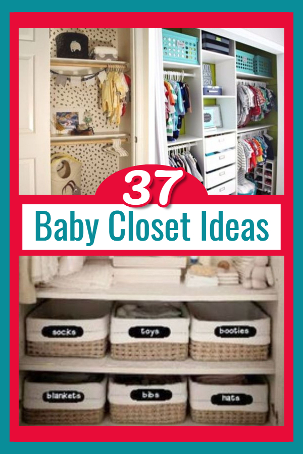 Baby Closet Organization Ideas - small nursery closet organizing ideas for the home