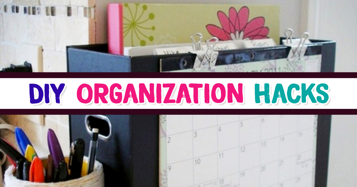 DIY Organization Hacks for Decluttering Your Life