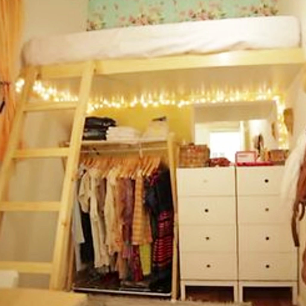 Image of: Small Closet And Too Much Stuff Try These 35 Space Saving Dorm Closet Organization Tricks