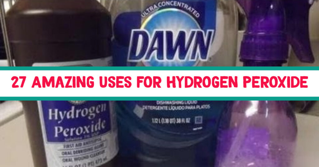 {Stop Germs from Spreading!} 27+ Amazing Hydrogen Peroxide Uses - and a Secret Tip