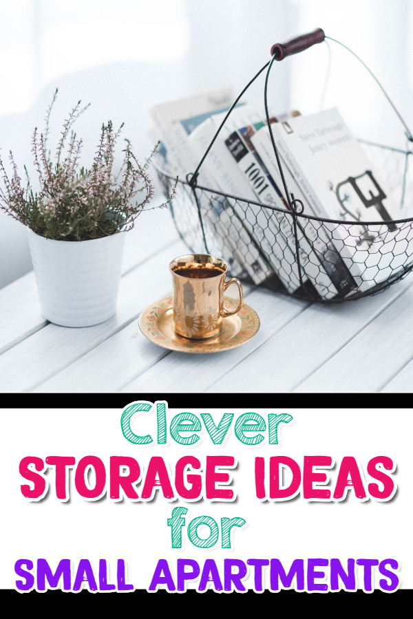 Storage Ideas for Small Apartments - Cheap and Clever Storage Ideas for Small Apartments (budget-friendly!)