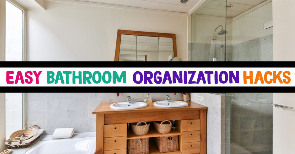 Bathroom Organization Hacks - 7 Clever Ways To Organize Your Bathroom Cabinets and Drawers