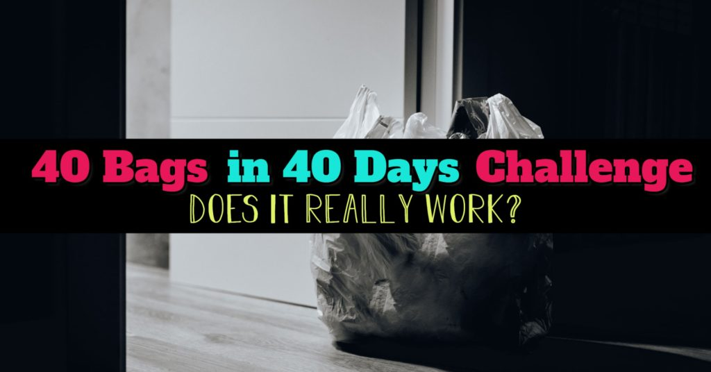 Does the 40 Bags in 40 Days Decluttering Challenge REALLY Work?