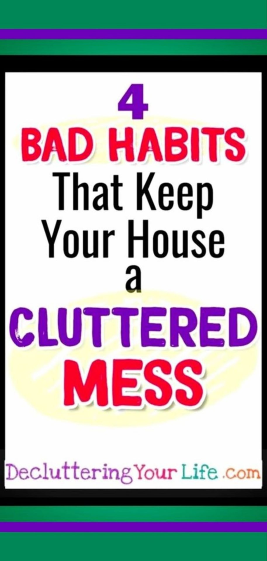 Where to START cleaning a messy house when you feel SO overwhelmed. Uncluttering your house starts with knowing WHY you're a cluttered mess so then you can go from cluttered mess to organized success!