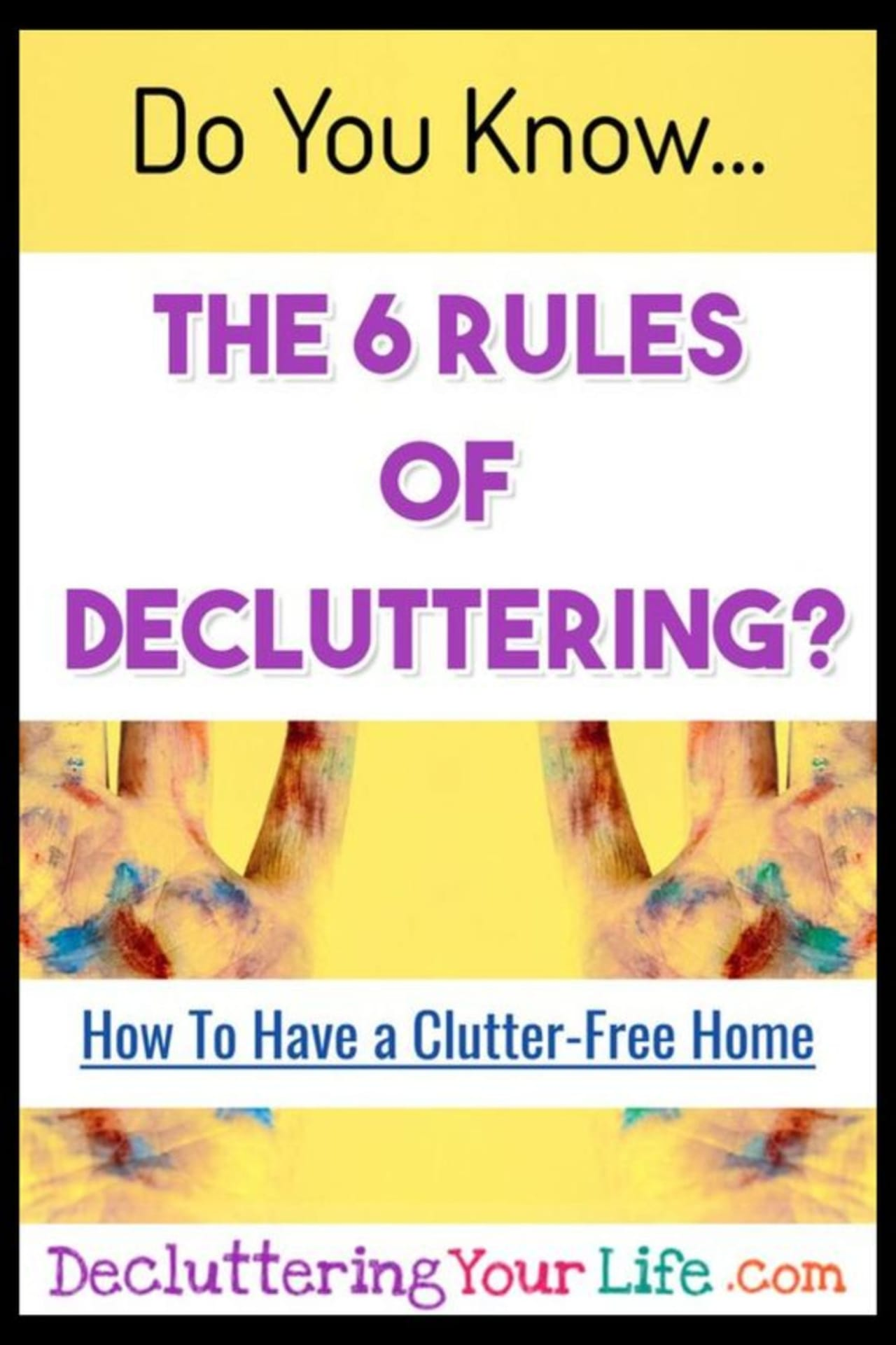 Decluttering ideas - how to declutter and organize when feeling overwhelmed - decluttering tips for packrats and hoarding help