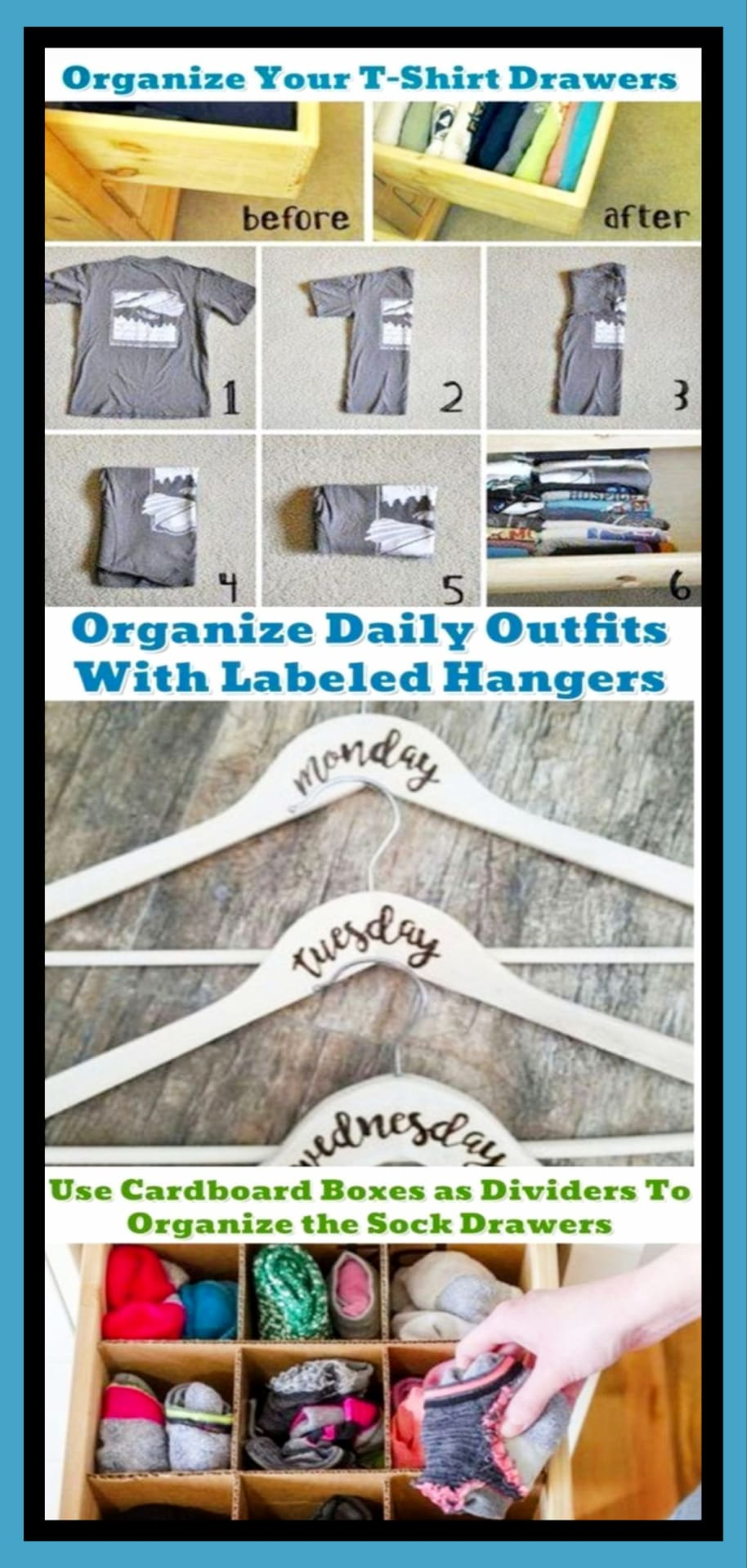 Get Organized!  Getting organized at home on a budget WITHOUT feeling overwhelmed by clutter
