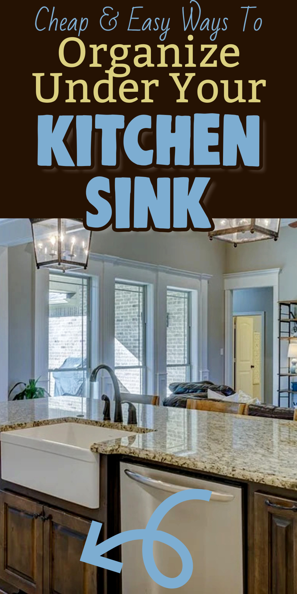 Cabinet Organization Ideas Clever Ways To Organize Under Your Kitchen Sink Even If You Re On A Budget