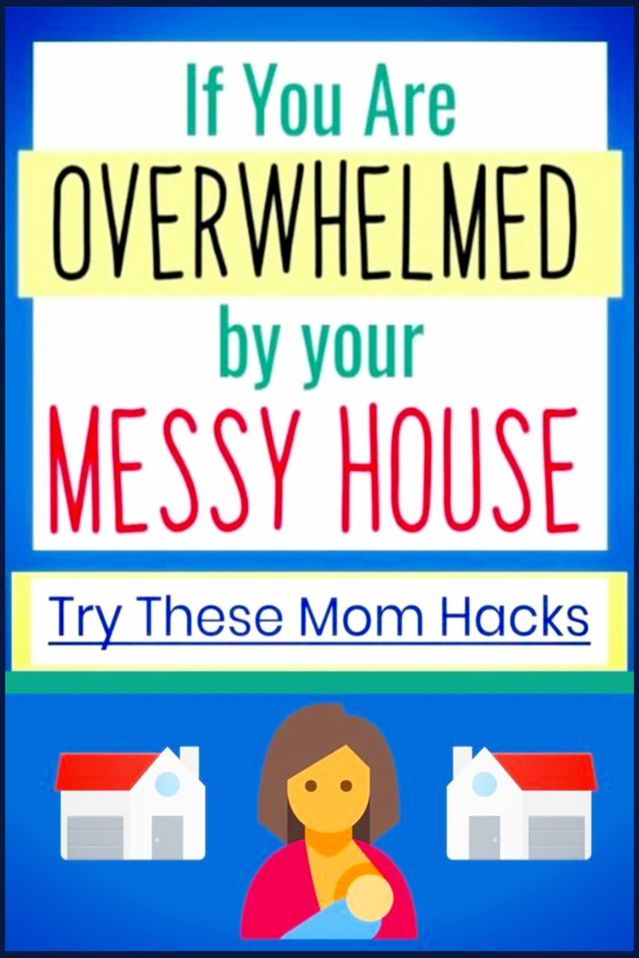 Easy decluttering tips and Organizing Ideas For The Home - Decluttering Ideas if you're feeling overwhelmed - where to start decluttering and organizing your messy house - decluttering step by step to declutter and organize without feeling overwhelmed