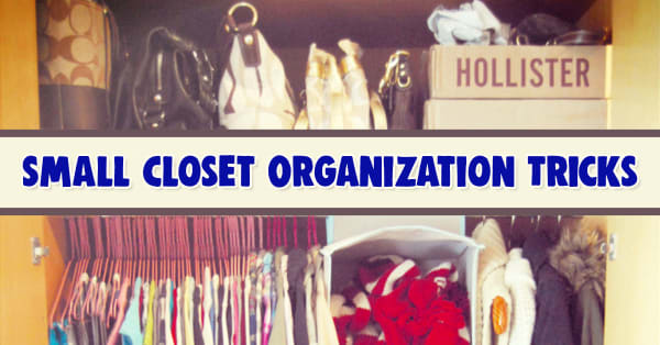 Have a Small Closet At Home, In Your Apartment, Or At College? These Small Closet Organization Hacks and Space Saving Closet Ideas Will Help You Maximize Your Space Without Spending a Ton Of Money