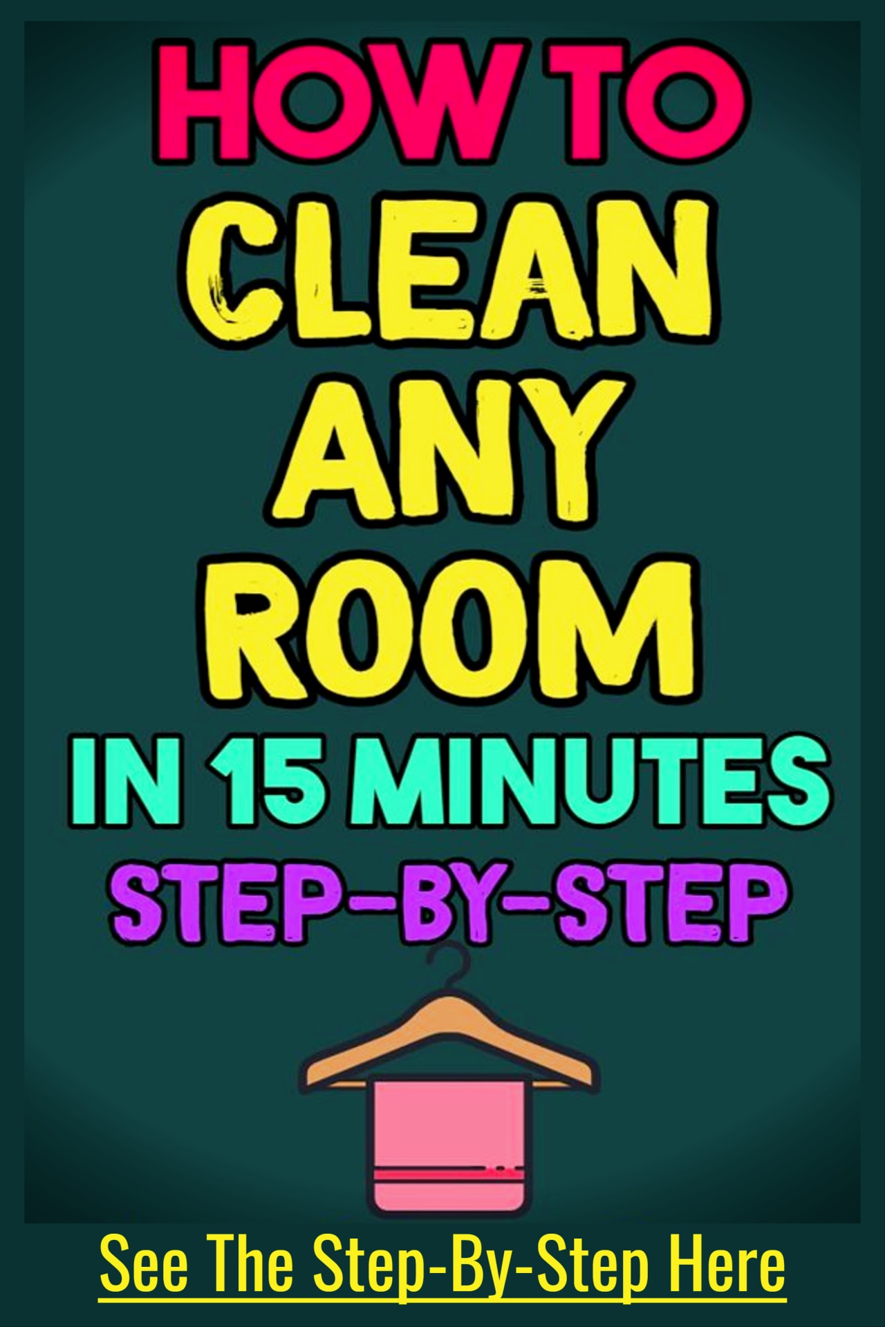 How to clean a cluttered house FAST - clean any room fast step by step and room by room to an uncluttered house on a budget - even if feeling overwhelmed