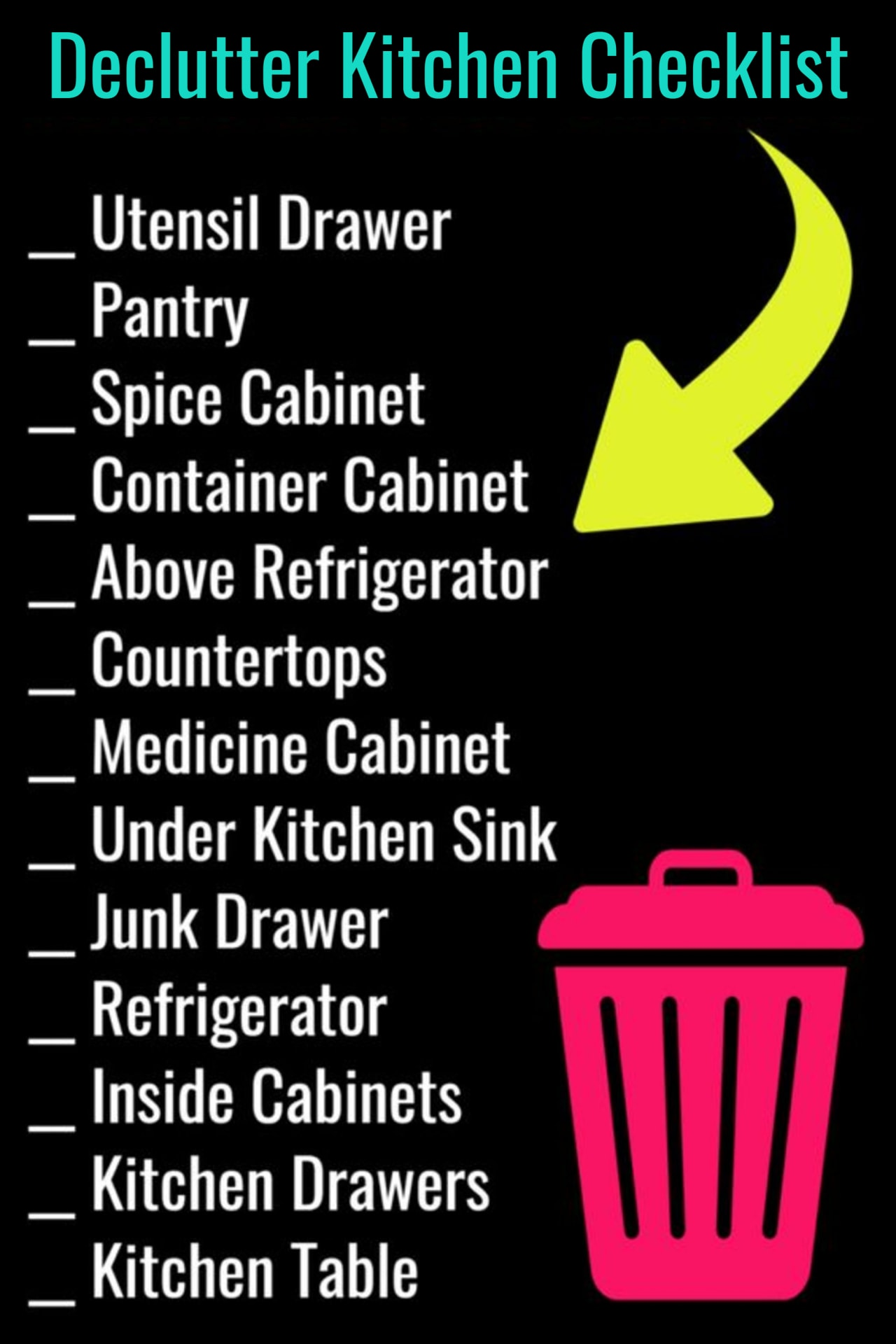 Kitchen clutter solutions to declutter your kitchen fast