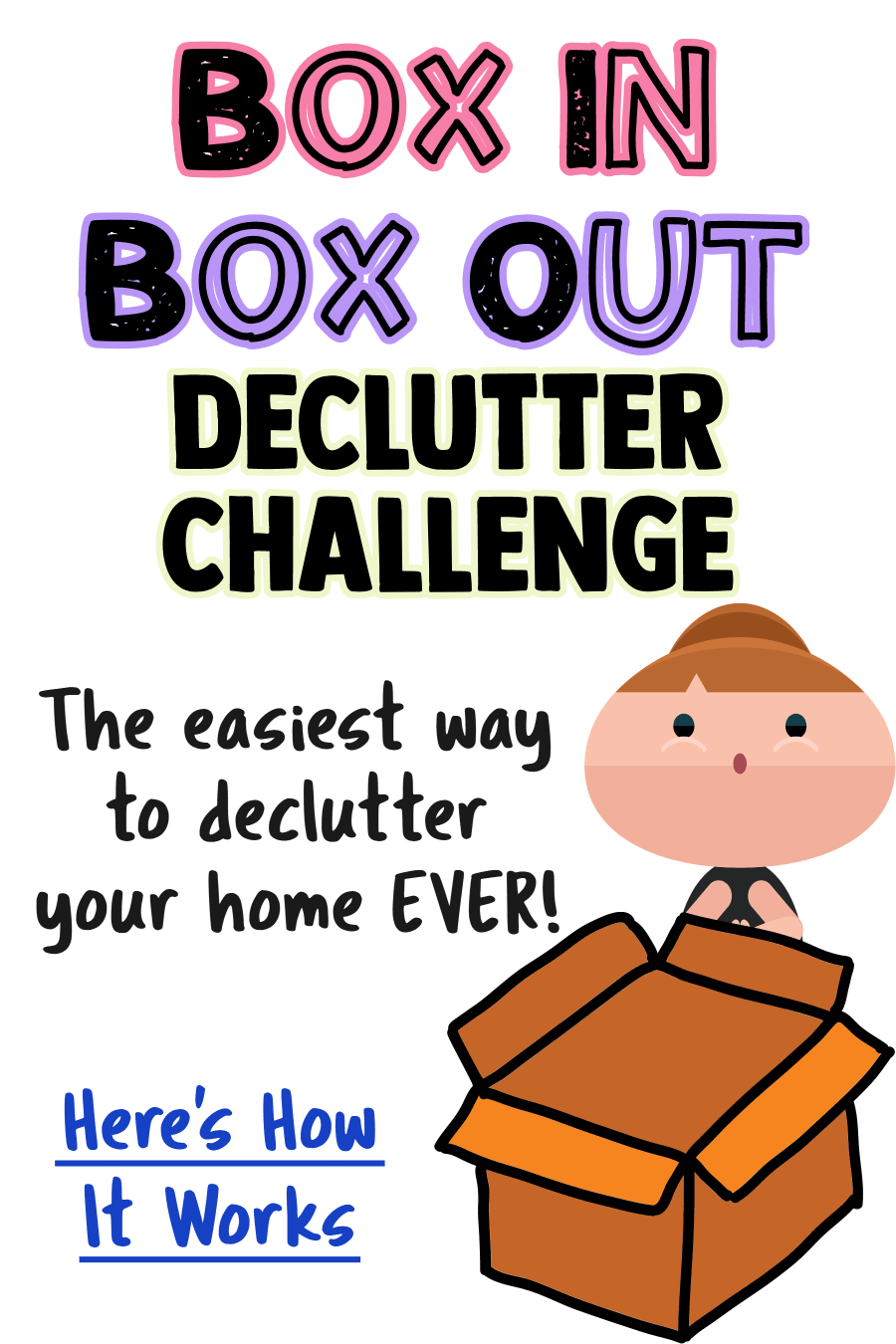 Decluttering Ideas To Easily Declutter and Organize Your Home - All the organization ideas in the world won't work unless you declutter your home FIRST and KEEP it clean and clutter-free.  This easy Declutter Challenge helps you get rid of clutter the easy way and won't leave you feeling overwhelmed when organizing.  Declutter room by room with this simple declutter challenge from our Decluttering Club at Decluttering Your Life.