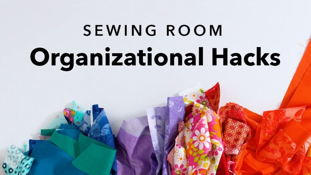Budget-Friendly Sewing Room Storage Ideas To Organize ALL Your Sewing Stuff on a Tight Budget