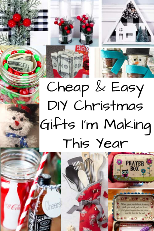 DIY Christmas Gift Ideas I'm Making This Year For Cheap Handmade Gifts On a Budget